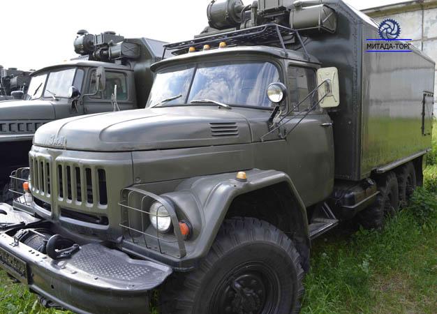 Автомобиль ЗИЛ-131 с кунгом