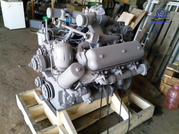 Двигатель дизельный ЯМЗ-236