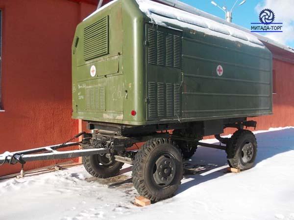Кузов-фургон (кунг)